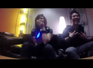 "FUNimation's video ""Let's Play - KOR-FX Immersive Gaming Vest - P.T., Destiny, Street Fighter"""