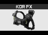 "DaveChaos's video ""KOR-FX 4DFX Haptic Gaming Vest Review"""